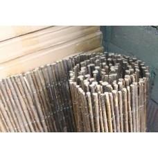 Декоративный забор из ивовых прутьев 300х120