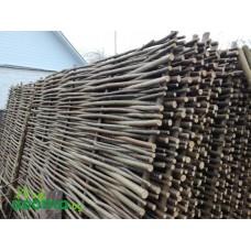 Забор (плетень) из орешника 200х180
