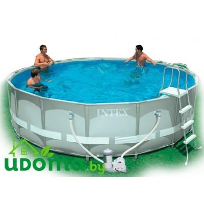 Каркасный бассейн Intex Ultra Frame 427х107 см