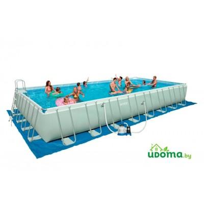 Каркасный бассейн Intex Ultra Frame 975х488х132 см