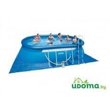 Надувной бассейн Intex Oval Frame 549x305x107 см