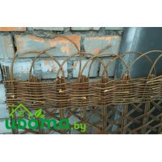 Плетеная ширма из ивовых прутьев - уценка #2