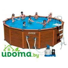 Каркасный бассейн Intex Sequoia Spirit 478x124 см