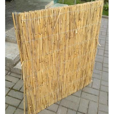 Декоративный забор из камыша секционный толщиной 2 см