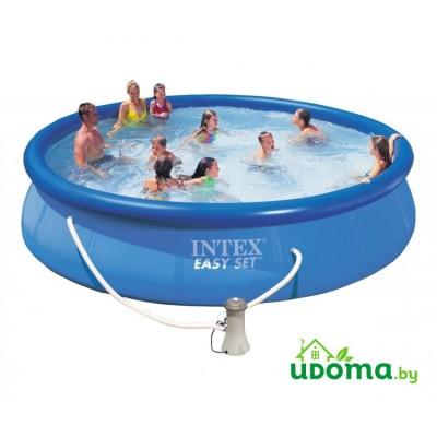 Надувной бассейн Intex Easy Set 457x91 см