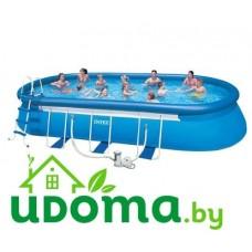 Надувной бассейн Intex 610х366х122 см