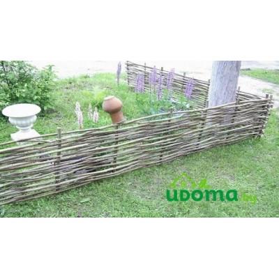 Забор (плетень) из орешника 200х50