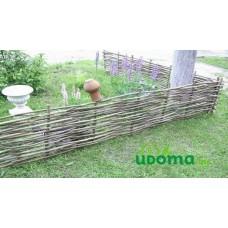 Забор (плетень) из орешника 200х30