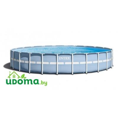 Каркасный бассейн Intex Prism Frame 732x132 см