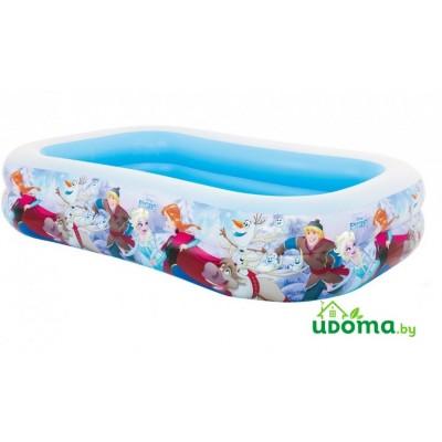 Надувной бассейн Intex Холодное сердце 262*175*56 см