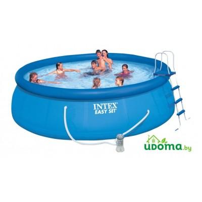 Надувной бассейн Intex Easy Set  457х122 cм