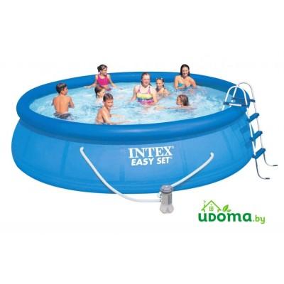 Надувной бассейн Intex Easy Set 549х122 см