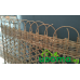 Плетеная ширма из ивовых прутьев - уценка