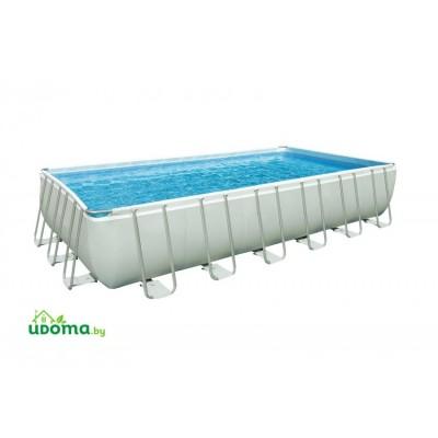 Каркасный прямоугольный бассейн Intex Ultra Frame 732х366х132 см